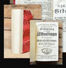 1754 Duell Schleswig-Holstein Lübeck Quabeltrank Dreyer Sammlung