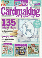 CARD MAKING & PAPERCRAFT, OCTOBER, 2014  ( THE UK'S CARDMAKING MAGAZINE )
