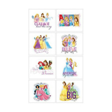 Disney Princess Temporary Tattoos Birthday Party Prize Favours Lolly Bag 8pk