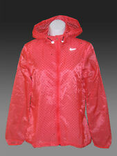 New NIKE CYCLONE VAPOR Running Cycling Lightweight Ladies Womens Jacket Red XS