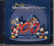 """WALT DISNEY WORLD RESORT OFFICIAL ALBUM""...""CELEBRATING 100 YEARS"".... NEW CD'S"