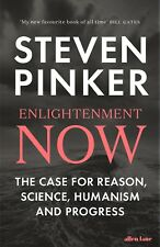 HB 1st - Enlightenment Now by Steven Pinker (2018), (New,2018,Paperback edition)