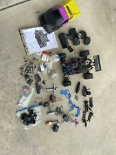Rc 4wd Redcat 1/10 Nitro Truck Buggy / With Parts Lot - Many Extras