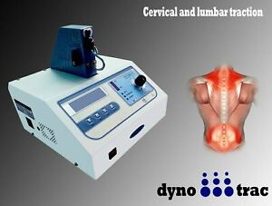 Physiotherapy Advanced Cervical & Lumber Traction Electrotherapy LCD Display Uni