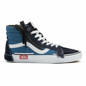 Vans Sk8-Hi Reissue CAP Men's Size 10.5 High Top Skate Shoes Parisian Night/Navy