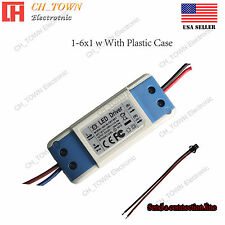 Constant Current LED Driver 5W 1-6X1W DC 3-20V 300mA Bulb Lamp Power Supply USA