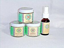 Lot of 4 pc Green Valley Spa Skincare -Good Medicine SAND RADIANCE ASHES MIST