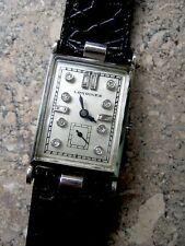 Longines Platin 50er Jahre Armbanduhr