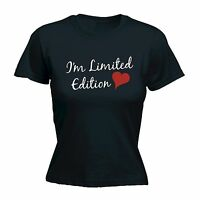 Im Limited Edition Heart WOMENS T-SHIRT Girlfriend Funny Present birthday gift