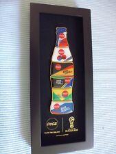 !!!! NEU !!! 1 Seltene  COCA COLA  Fußball WM 2018 Bottle Pin Rahmen !!! NEU !!!