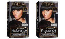 2 L'Oréal Paris Superior Preference INFINIA Hair Color, #2 Natural Black