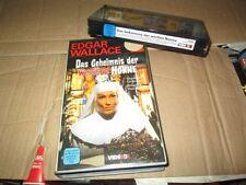 VHS - Das Geheimnis der weissen Nonne - Edgar Wallace - VIDEOBOX / TAURUS - NEU