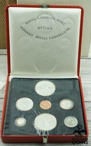 1967 Canada Confederation Centennial PROOF 7-COIN SET W/ OGP BOXES!
