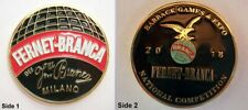 NEW Fernet Branca 2018 Barback Games & Expo Challenge Coin Authentic Fernet coin