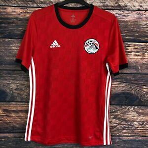 Adidas EGYPT National Team Home Short Sleeve Football Shirt  2018/19 Size S