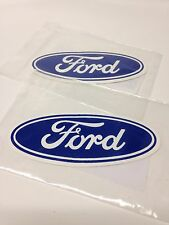 Ford Blue Oval Vintage Style Sticker Decal Hot Rat Street Rod Gasser Drag Pair