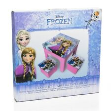 Disney Frozen Table And 2 Storage Stools BNIP Girls