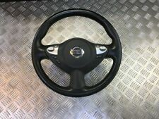 10-14 NISSAN JUKE MULTIFUNCTION LEATHER STEERING WHEEL WITH AIRBAG
