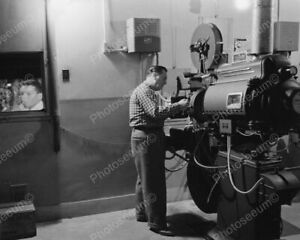 Antique Movie Theater Projector 1900s 8x10 Photography Reprint