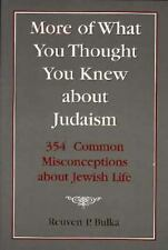 More of What You Thought You Knew About Judaism: 354 Common Misconceptions About