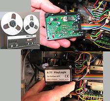 Pievox PLAY-LOGIK  f.  Revox A77  MKIV (MK 4) - Schluß mit Bandsalat!