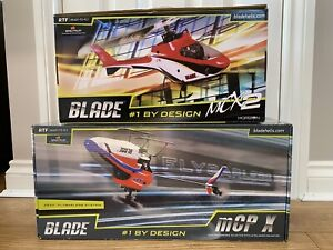 Blade RTF MCX2 & MCP-X (x2 Helicopters & Charger)