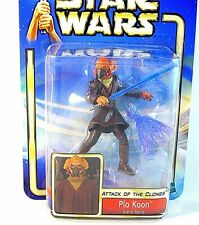 STAR WARS ATTACK OF THE CLONES CARDED PLO KOON (ARENA BATTLE) ,COLLECTOR'S ITEM