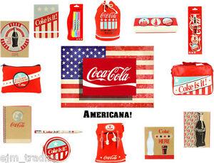 Authentic Americana Coca-cola Coke backpack pencil case