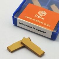 10PCS MRMN300-M Circular grooving insert R1.5 carbide insert MRMN300