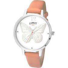 Limit Geheime Gärten Schmetterling Edelstahl rosa Armband Armbanduhr 6285.73