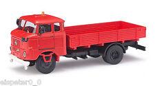Busch 95143, ESPEWE: IFA W50L Fp »Pompier«, H0 Auto modèle déjà assemblé 1:87