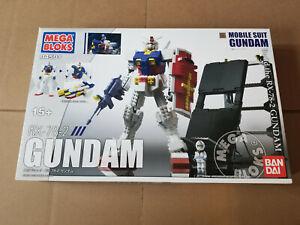 Mega Bloks Mobile Suit Gundam 04501 RX-78-2 Gundam - New, Sealed