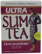 Ultra Slim Tea, Cran-Raspberry, Tea Bags, 24 Count Box