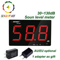 Digital Sound level meter 30~130dB large screen display Noise Decibel Meter