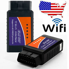 ELM327 WiFi OBD2 Car Diagnostic Interface Scanner Code Reader for iPhone 5s iPad