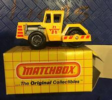 MATCHBOX-MB#40 ROAD ROLLER -MINT W/ Box