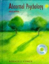 Abnormal Psychology by Ronald J. Comer (1997, Hardcover)