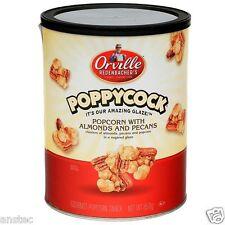 Orville Redenbacher's POPPYCOCK ALMOND & PECANS SWEET POPCORN TIN 850g