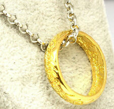 Collana Anello Il Signore degli Anelli Cosplay The Lord of the Rings Hobbit Dor