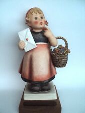 "HUMMEL FIGURINE MEDITATION 13/V, 14"" Gift from Goebel to Haeger Pottery !"