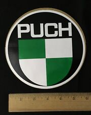 "Vintage Puch Sticker (Large, 6.5"" Diameter)"