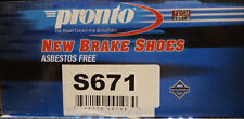 BRAND NEW PRONTO BRAKE SHOES S671 / 671 FITS 93-98 NISSAN ALTIMA