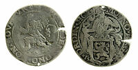 pcc1945_1) Netherlands Silver Lion Thaler 1570 - defect