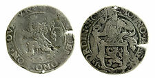 pcc1945_1) Netherlands Silver Lion Thaler 1570 - defect