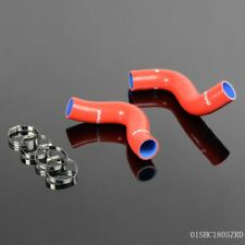 Gplus For Subaru Forester SF5 WRX 2.5L TURBO 1998-2002 Silicone Radiator Hose RD
