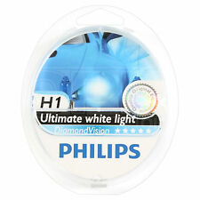 Philips Diamond Vision H1 xenon-look estilo coche faros bombilla-Twin Pack