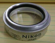 Nikon Stereo microscope 0.7X Auxiliary Objective Lens 48mm