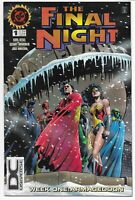 FINAL NIGHT #1 DC UNIVERSE LOGO VARIANT NM- WEEK ONE: ARMAGEDDON DC COMICS