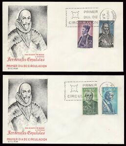 España - Edi o 1705/8 - 2 Sobres de primer día