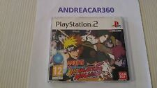 Play Station 2 PS2 Naruto Shippuden Ultimate Ninja 5 DVD PROMO PAL